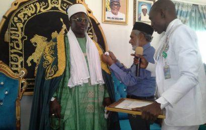 Honorary Chancellorship, Board of Trustees/Directors' Membership: VC accords investiture to Emir of Damaturu